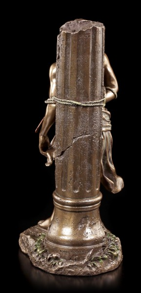 Heiliger Sebastian Figur - Gefesselt an Säule