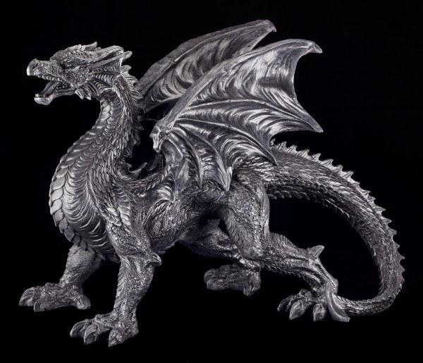 Drachen Figur - Der schwarze Wächter