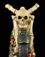 Skeleton Bike Bottle Holder - Death Ride