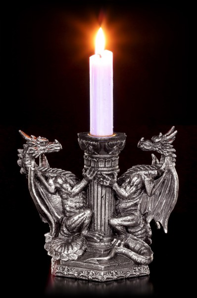 Dragons Candle Holder - Eternal Blaze