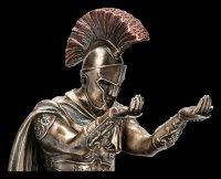Römer Figur - Feldherr mit Brieföffner und Stiftehalter