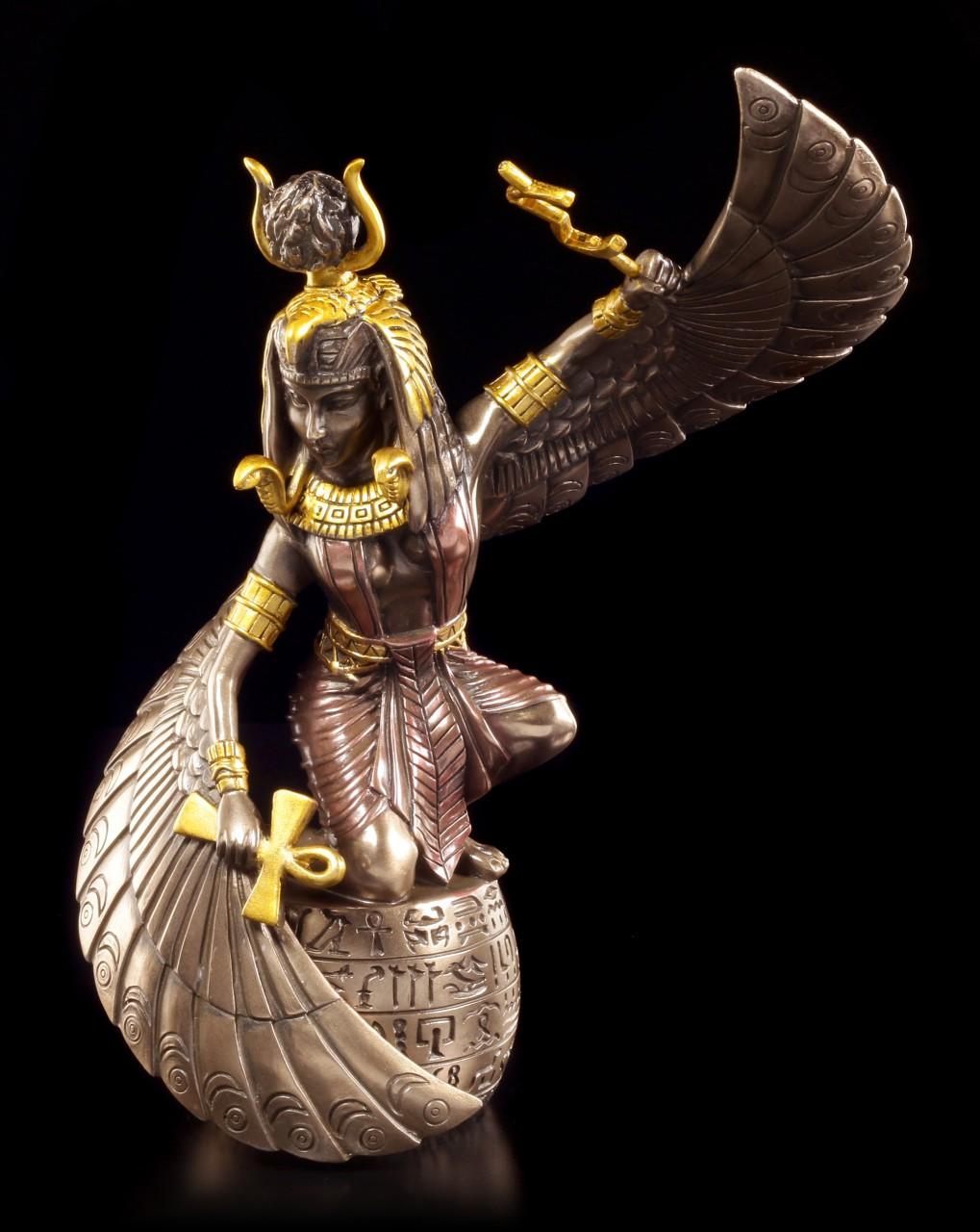 Isis als Kriegerin - Figur