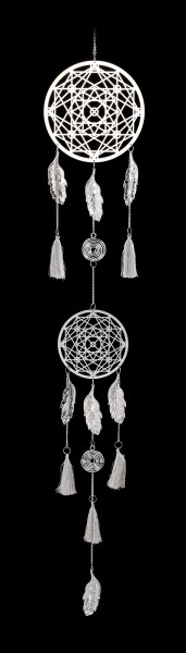Metal Dreamcatcher - Geometric Symphony