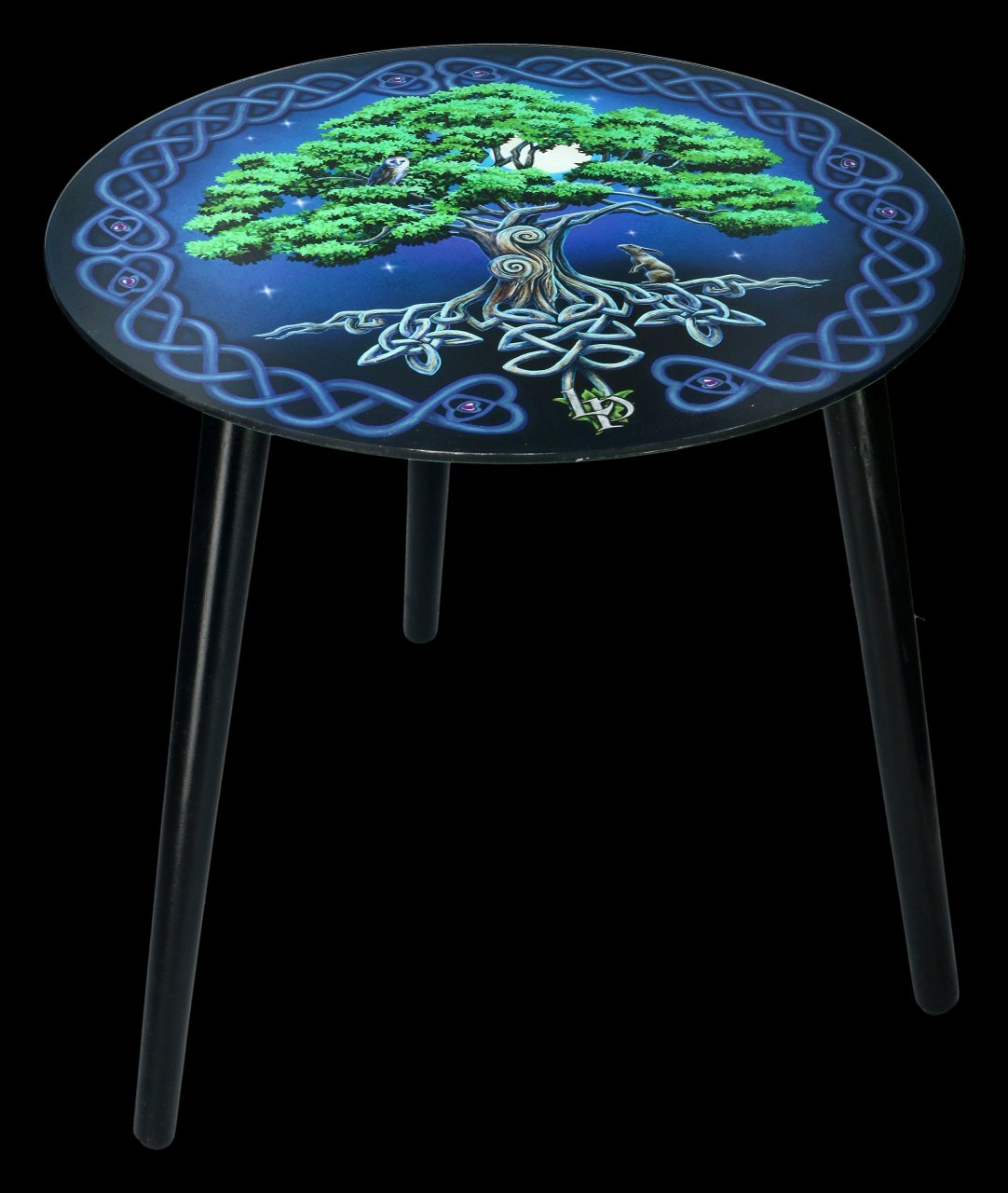 Side Table - Tree of Life by Lisa Parker