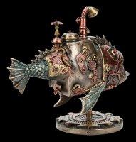 Steampunk Figurine - Fish Submarine - Sub Piranha