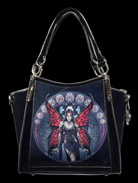 Gothic Handbag with 3D Picture - Aracnafaria