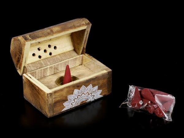 Karma Räucherbox - Rose