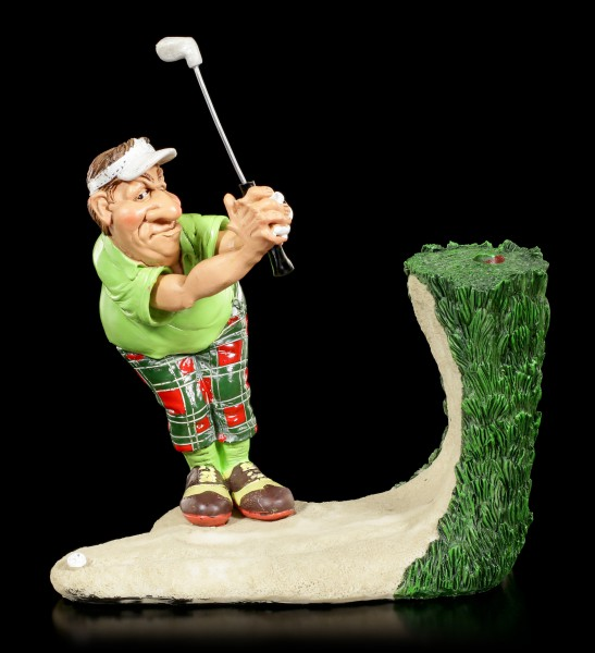 Golf Player Figurine - Bunker Shots