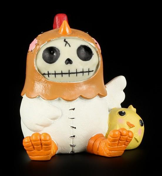 Chicken - Large Furry Bones Figure