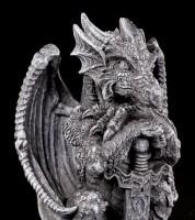 Dragon Figurine - Syus with Sword