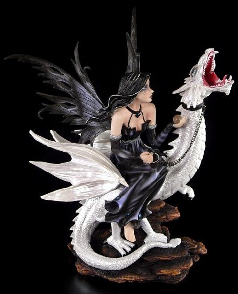 Big Fairy on white Dragon - Imperium Ramayana
