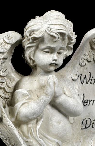 Angel Grave Figurine - Wir Vermissen Dich