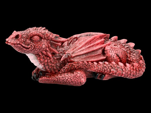 Dragon Figurine - Ruby Dreaming