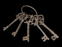 Medieval Bunch of Dungeon Keys