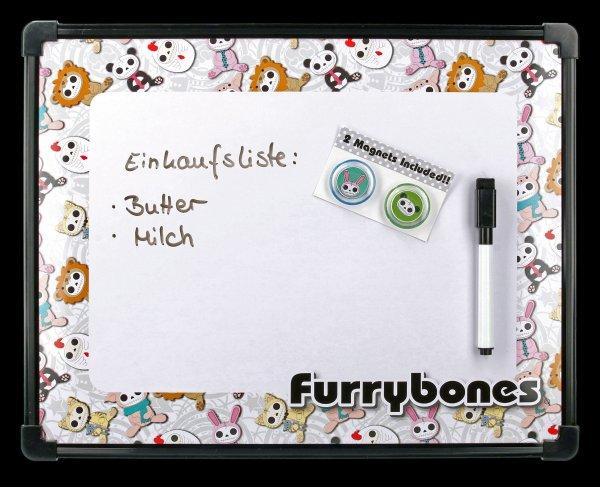 Furrybones Magnetic Dry-Erase Board