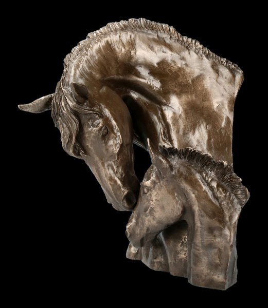 Horse Bust - Mare and Foal