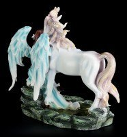 Engel Figur - Avari mit Einhorn