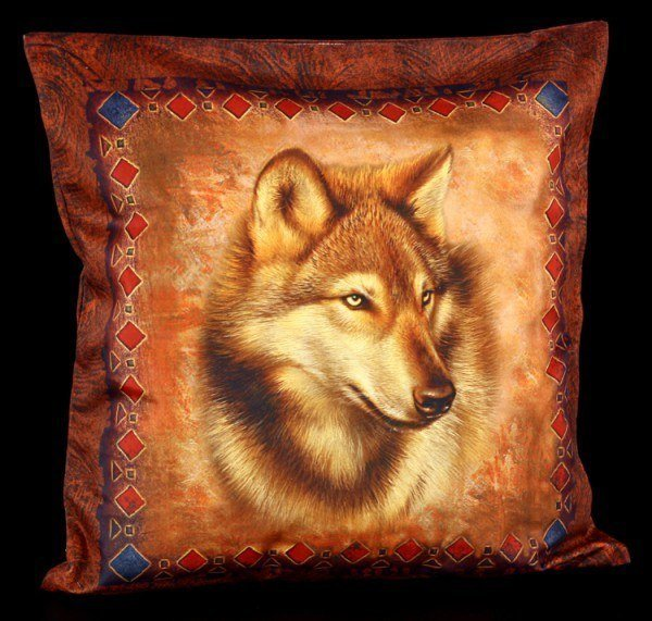 Western Wolf - Kissenbezug