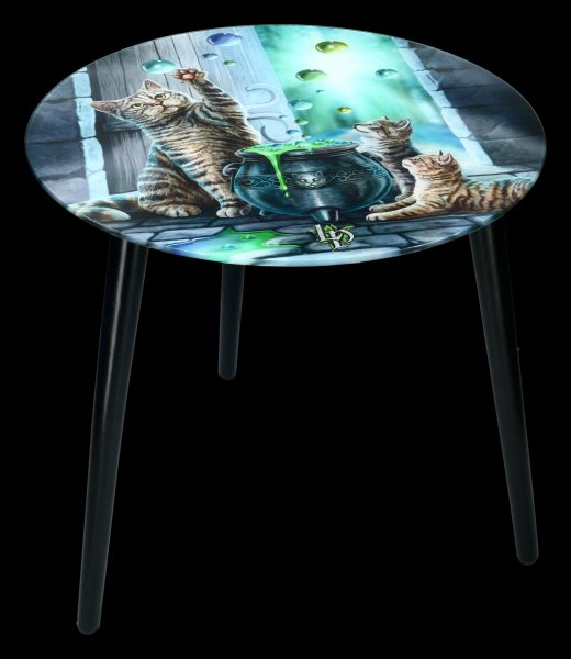 Side Table with Cats - Hubble Bubble