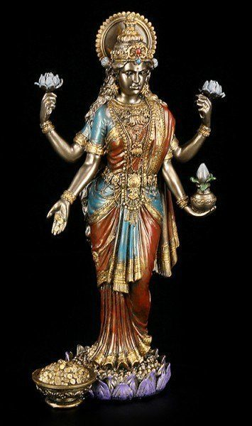 Lakshmi Figur - Hinduistische Göttin