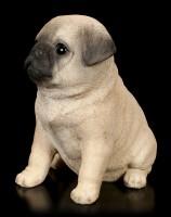 Hunde Welpen Figur - Mops