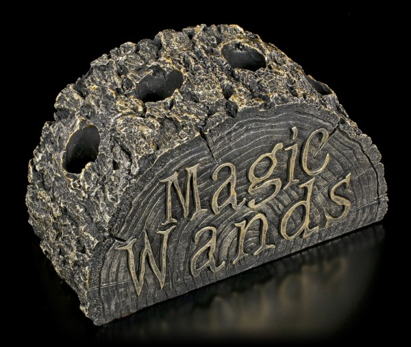Magic Wands Holder - Stump of Magic