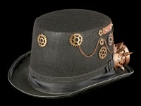 Steampunk Hat with Goggles - Strange Wanderer