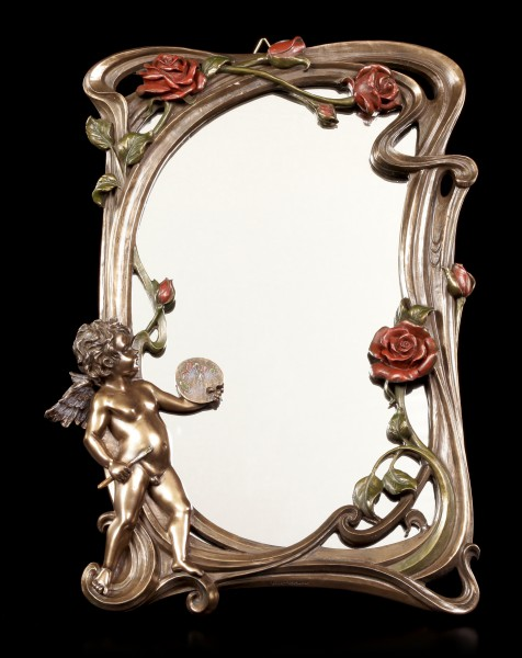 Art Nouveau Mirror - Little Angel