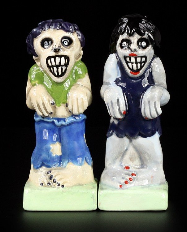 Crazy Zombies - Salt and Pepper