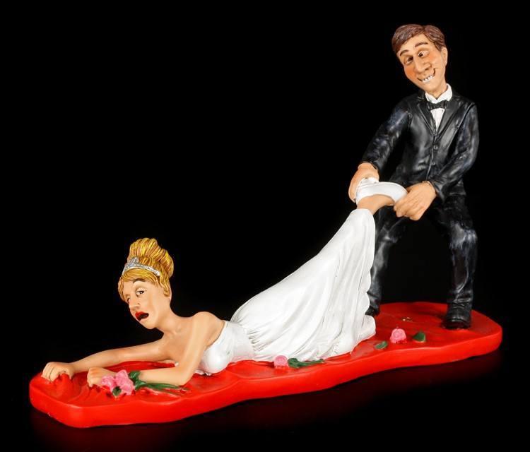Too Late - Funny Wedding Figurine