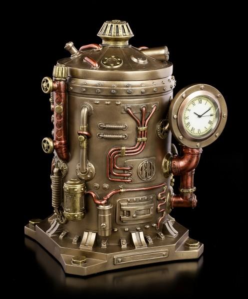 Vorschau: Schatulle mit Uhr - Steampunk Kessel