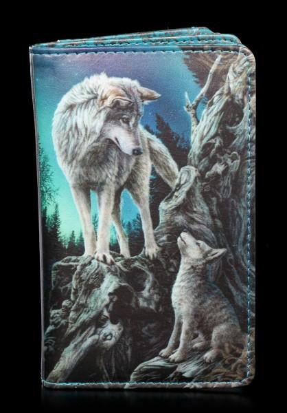 Geldbörse mit Wölfen - Guidance