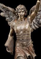 Archangel Raguel Figurine with raised Sword