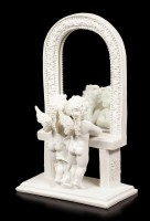 Angel Figurine with Mirror - Look at the Infinity