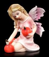 Kleine Elfen Figur - Eriu mit roten Früchten