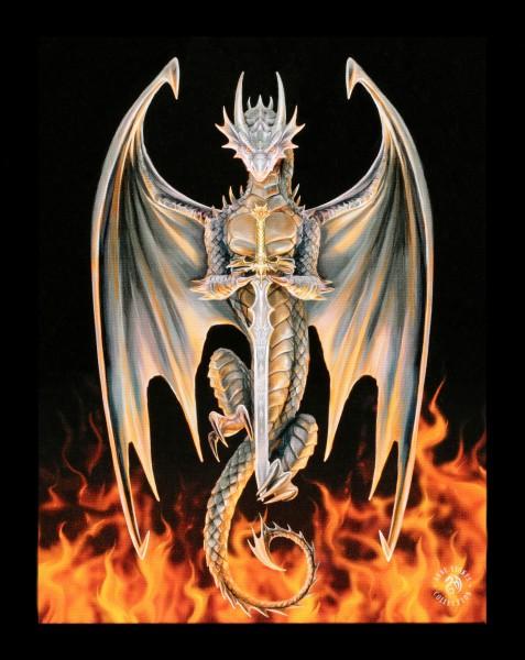 Small Canvas - Dragon Warrior
