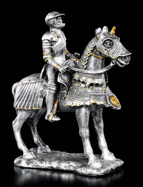 Small Knight Figurine on Horse
