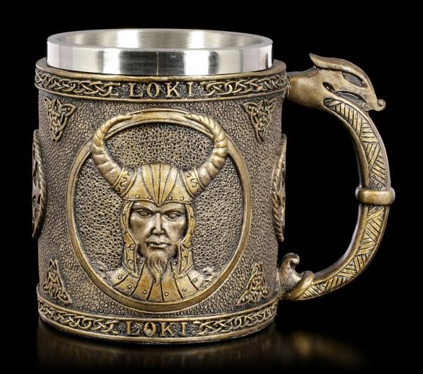 Loki Tankard - Nordic God