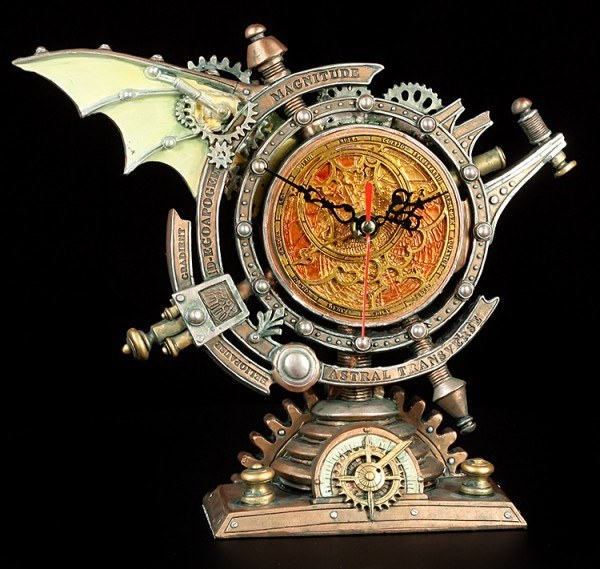 Alchemy The Vault - Table Clock