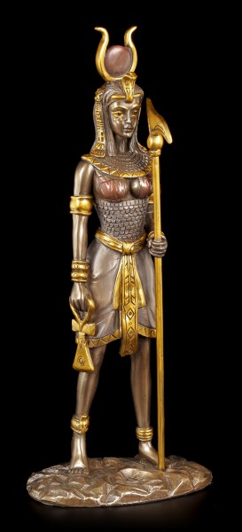 Egyptian Warrior Figurine - Hathor - bronzed