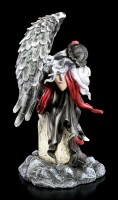 Engel Figur - Dark Weeping Angel on Grave