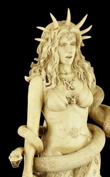 Hekate Figur - Griechische Göttin der Magie - Weiß