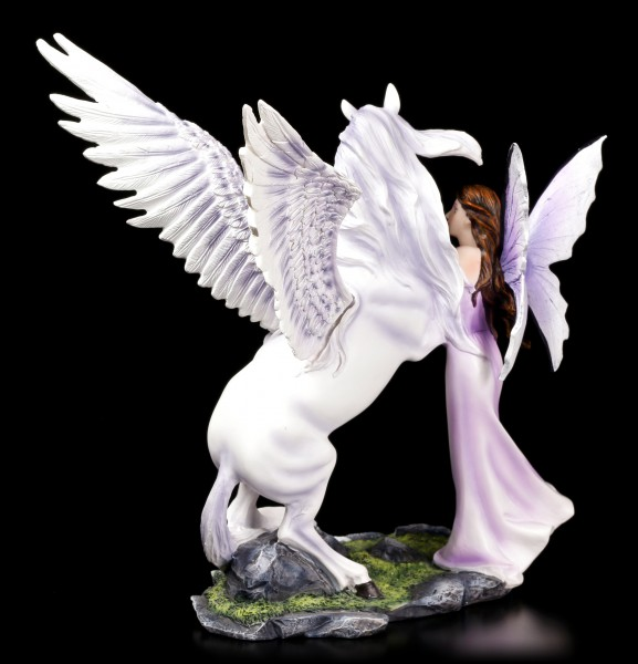 Fairy Figurine - Eire with Pegasus