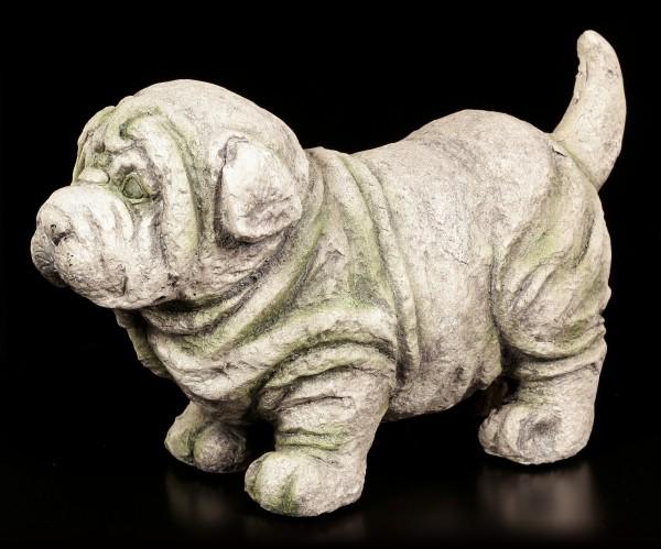 Gartenfigur - Stehender Hund