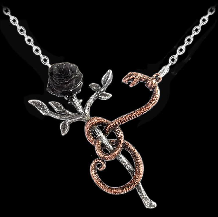 Alchemy Gothic Halskette - A Rose For Eve