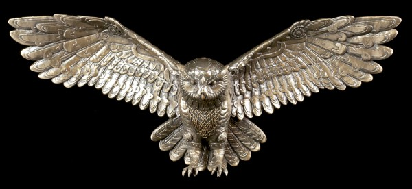 Wall Plaque - Steampunk Owl of the Old World