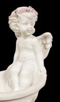 Angel Figurine - Sitting on Bathtub
