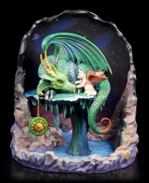 Vorschau: Drachen Figur - Time Dragon Emerald