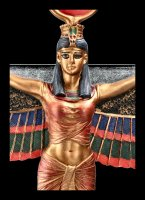 Goddess Isis Open Wings Wall Ornament