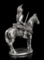 Pewter Soldier Figurine on Horse